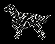 Gordon Setter rhinestone bling transfer