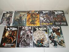 X-Men  TPB  Lot of 9 -  Days of Future Past, Supernovas, Phoenix Endsong, Fairy+
