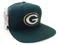 Green Bay Packers Vintage Annco Green Snapback Cap Hat