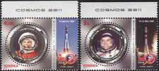 Romania 2011 Gagarin/Prunariu/Space Flight/Astronauts/Cosmonauts 2v set (n44616)