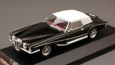 Stutz Blackhawk Convertible W/ Hard Top 1971 Black 1:43 Model PREMIUMX