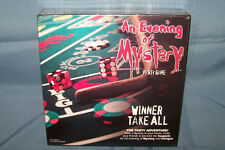 An Evening Of Mystery Party Game Winner Take All  2012  SEALED