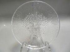 "VTG MCM ULTIMA THULE IITTALA FINLAND 7.25"" GLASS SALAD PLATE,MULTIPLES AVAILABLE"