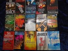 * 15 BRILLIANT THRILLER BOOKS by IRIS JOHANSEN * UK FREE POST* PAPERBACKS*