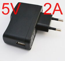 AC / DC 5V 2A 2000mA EU Plug USB Power Supply Adapter Charger Android Tablet PC
