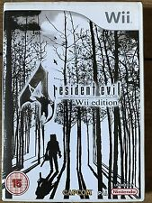 Resident Evil 4 ~ Nintendo Wii  Violent Action / Survival Horror Game Videogame