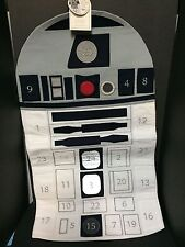 Pottery Barn Kids R2D2 Star Wars ADVENT Countdown Calendar Christmas SOUND NEW