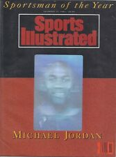 1991 Michael Jordan Hologram Sportsman of Year Sports Illustrated MINT NO LABEL