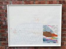 """Miami Florida Contemporary Artist Robert Huff Abstract Painting """"Maderia"""" Signed"""