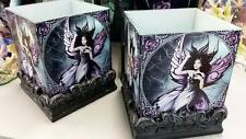 ANNE STOKES SILK LURE CANDLE HOLDERS SET OF 2 RRP $56