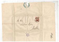 1878 Veracruz Mexico Cover to Puebla Dr Antonio Lopez