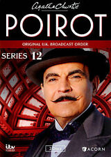 Agatha Christie's Poirot: Series 12 (DVD, 2014, 2-Disc Set) GREAT SHAPE