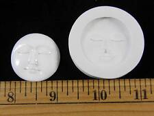 Moon Face (Large) Polymer Clay Push Mold (#MD1303)