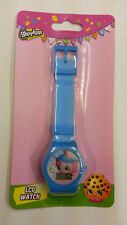 SHOPKINS CUPCAKE KID LCD DIGITAL BLUE WATCHES 100% ORIGINAL LICENSED MUST L@@K