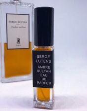 8ml Sample of Serge Lutens Ambre Sultan EDP Resins Vanille Bay Leaf Amber Myrhh