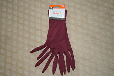 New Adult Tree Finger Gloves Witch Costume Halloween Maroon