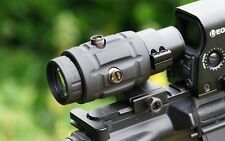 Vector Optics 3x Magnifier Flip to the side mount.