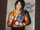 "WWE & WWF LEGEND RICKY ""THE DRAGON"" STEAMBOAT AUTOGRAPHED RARE 8X10 PHOTO W/COA"