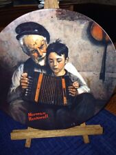 """The Music Maker"" Norman Rockwell Collectors Plate"