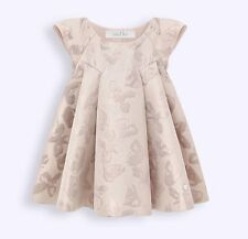 BABY DIOR JACQUARD DRESS AND BLOOMERS 18 MONTHS