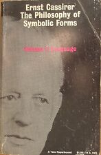 The Philosophy of Symbolic Forms Vol. 1 : Language by Ernst Cassirer PB (1965)