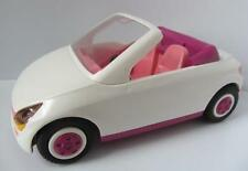 Playmobil white & pink open top car NEW wedding/dollshouse/holiday themes