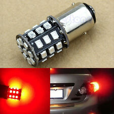 Pure Red 1157 AX-2835 33-SMD BAY15D Car Tail Stop Brake Light LED Bulb New