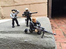 Call of Duty 06854 Mega Bloks Sniper Unit Collector Series FIGURE #1, 2, & 3!!