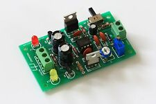 DIY DUAL RAIL VARIABLE DC POWER SUPPLY PCB DIY Electronic Kit
