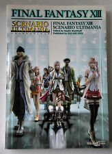 Game Guide Final Fantasy XIII Scenario Ultimania Japanese Book PS3 PlayStation