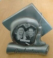 Pewter Metal Graduation Picture Frame