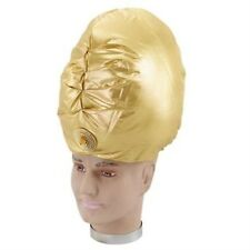 Genie Turbante ORO ALADINO SULTANO ARABO Bollywood Costume p2085