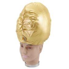 Genie Turbante ORO ALADINO SULTANO ARABO Bollywood Costume p2085