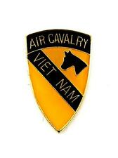US Army 1st Air Cavalry Division Vietnam Lapel Hat Pin Military PPM806