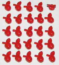 Lego Lot of 25 New Red Apples Minifigure Fruit Food Pieces