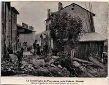 1906  --  LA CATASTROPHE DES FOURNEAUX PRES MODANE    3K781