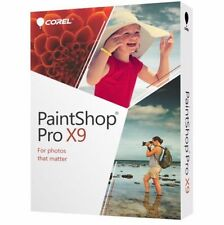 Brand New Corel PaintShop Pro X9 PC Disc Included *USA SELLER*