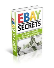 101 Ebay Auction Secrets Revealed How to Make money ebook + Resell rights+Bonus