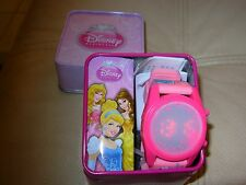 DISNEY PRINCESS DIGITAL WRIST WATCH INCLUDES LIGHT PRINTED BAND WARRANTY NIB