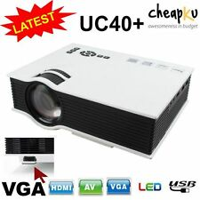 Latest New UC40+ Mini Portable Home Cinema Theater Multimedia LED Projector HD