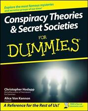Conspiracy Theories and Secret Societies For Dummies (Paperback),. 9780470184080