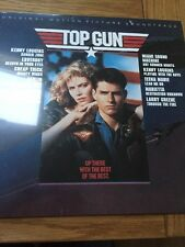 TOP GUN / VARIOUS ARTISTS  SOUNDTRACK 'OST' REISSUE - BRAND NEW VINYL LP