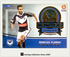 2013-14 SE A League Soccer Trading Card Medal Winner M19: Marcos Flores