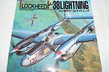 WW2 USAAF Lockheed P-38 Lightning Fighter Aero Detail 28 Reference Book