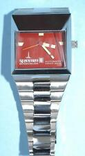 Spaceman Audacieuse Automatic Swiss Made Watch T 25 Red Dial in mint condition!
