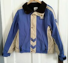 Vtg Mens TMC The Mogul Corner & Freeride Racing Stripes Ski Board Jacket Parka M