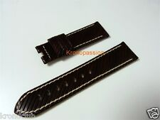 Panerai Brown Rivetta Strap 22mm/20mm for Luminor 40mm New !