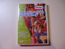 LITTLE TIKES IMAGINATION AND PLAY DVD - NEW AND IN THE ORIGINAL SEALED PACKAGE