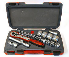 """Teng Tools T1221  Metric 12 point socket set of 21Piece with 1/2""""drive 167240100"""