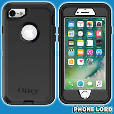 Genuine OtterBox Defender case cover for iPhone 7 Heavy Duty tough rugged BLACK